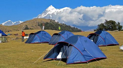 Camping im Himalaya