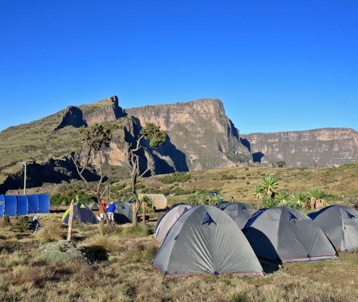 Äthiopien Reise Wandern Trekking