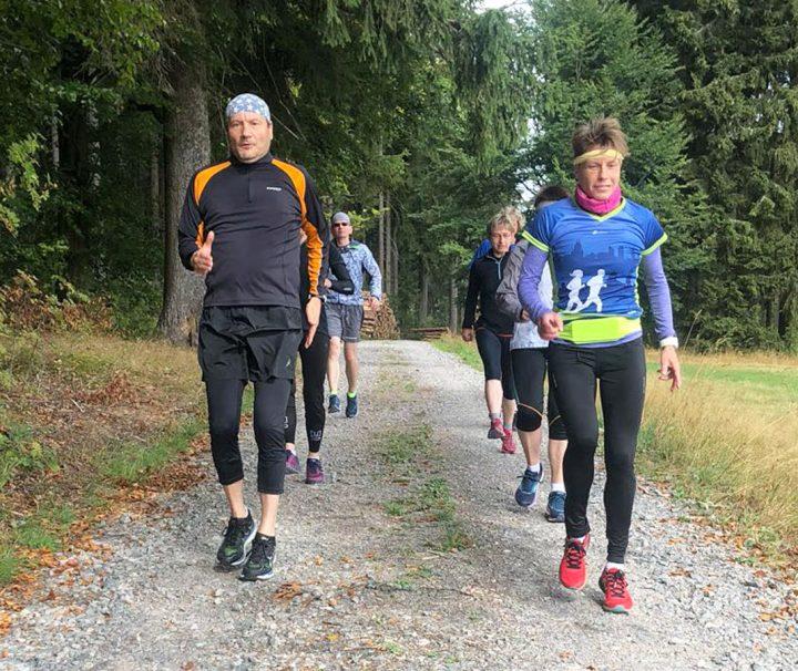 Aktivreise Laufen Natur Erzgebirge